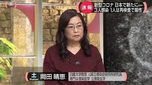岡田 晴恵 プロフィール